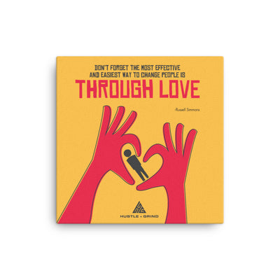 Through Love - 16x16