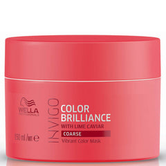 Masca pentru par vopsit si aspru - Wella Wp Invigo Color Brilliance Mask Coarse Hair 150 ml