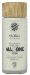 After shave BIO hidratant cu uleiuri de argan  jojoba si dovleac  All in One - Naobay  100 ml