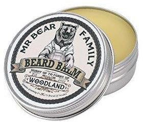 Balsam crema de barba cu miros de conifere - Mr Bear Family Beard Balm Woodland 60 ml