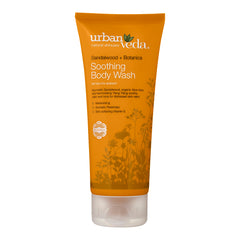 Gel de dus cu extract de lemn de santal organic  Soothing - Urban Veda  200 ml