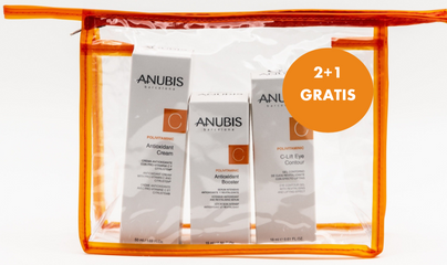 Pachet promotional antioxidant - ANUBIS PolivitaminiC Antioxidant Pack