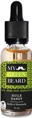 Ulei pentru barba si mustata MY GREEN BEARD - Dandy Beard Oil 30 ml