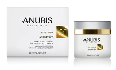 Crema anti-rid cu aur si diamante- Anubis Effectivity Gold Cream 60 ml