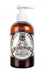 MR BEAR FAMILY Beard Wash Woodland 250 ml- Sampon de barba cu miros de conifere