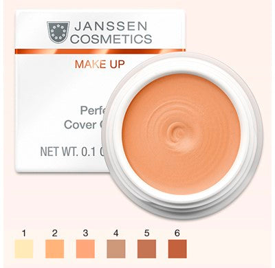 Crema speciala de camuflaj- JANSSEN Perfect Cover Cream 04 5 ml
