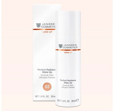 Fond de ten iluminant cu protectie UV- JANSSEN Perfect Radiance Makeup 03 30 ml
