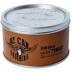 Pomada pe baza de apa cu fixare medie si luciu- Oil Can Iron Horse Grease Pomade 100 ml