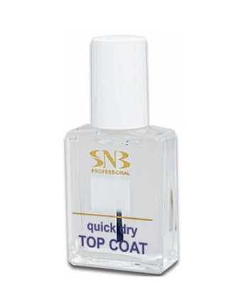 SNB Quick Dry Top Coat 15 ml