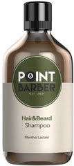 Sampon de par si barba - Point Barber Hair & Beard Shampoo 300 ml