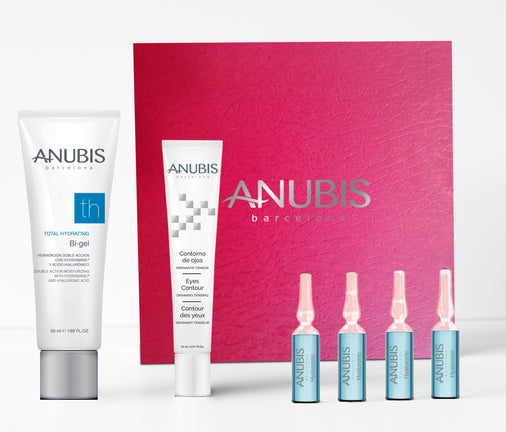 Pachet Hidratare Intensiva - ANUBIS Total Hydrating Moisturizing Red Pack