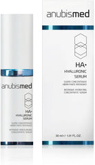 Serum concentrat cu acid hialuronic si vitamina E- AnubisMed HA+ Hyaluronic Serum 30 ml