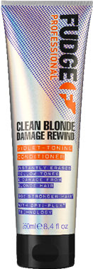 Balsam reparator pentru par blond- Fudge Clean Blonde Damage Rewind Violet Toning Conditioner 250 ml