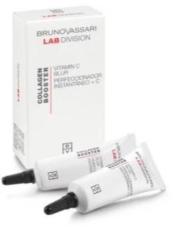 Crema de lifting instant- Bruno Vassari Collagen Booster Vitamin C Blur 2x10 ml