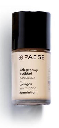 Fond de ten hidratant pt. ten sensibil, alergic si uscat– Paese Collagen Moisturizing Foundation 30 ml (11 nuante)