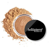 Fond de ten mineral pulbere- Bella Pierre Loose Mineral Foundation 9 gr (10 nuante) - CAFE