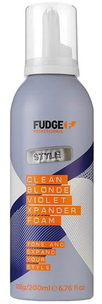 FUDGE Blonde Violet Xpander Foam - Spuma hidratanta pentru par blond 200 ml