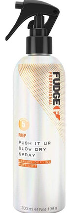 Spray lejer pentru volum radacini si protectie termica - FUDGE Push it Up Blow Dry Spray 200 ml
