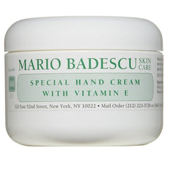 Crema de maini cu vitamina E - Mario Badescu Hand Cream With Vitamin E 118 ml