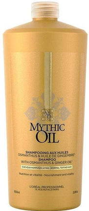 Sampon pentru parul normal sau fin - Loreal SE Mythic Oil Shampoo Normal/Fine Hair 1000 ml