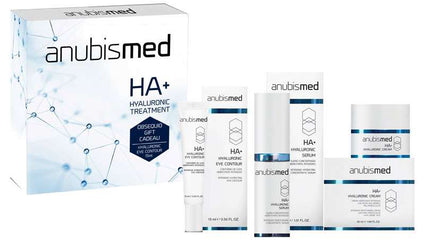 Pachet tratament cu acid hialuronic- AnubisMed HA+ Hyaluronic Treatment Pack