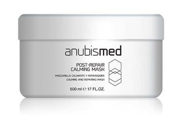 Masca calmanta de reparare intensiva cu aloe vera si hamamelis- AnubisMed Post-Repair Calming Mask 500 ml