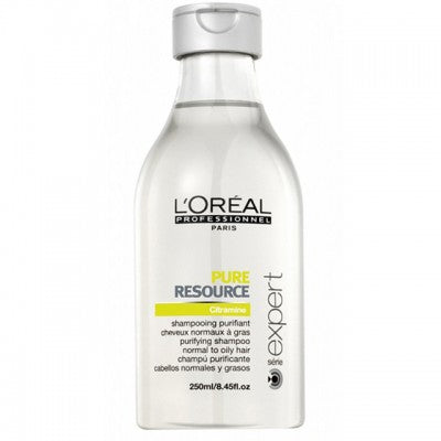 Sampon pentru par gras - Loreal SE Pure Resource Citramine Shampoo 250 ml