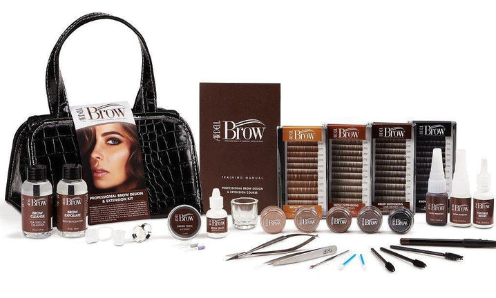 Kit complet pentru sprancene- Ardell Professional Brow Design & Extension