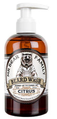 Sampon de barba cu miros de citrice - Mr Bear Family Beard Wash Citrus 250 ml