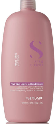 Balsam de hidratare fara clatire - Alfaparf Semi Di Lino Moisture Nutritive Leave-in Conditioner 1000 ml