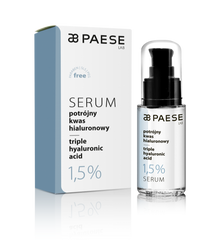 Baza ser cu acid hialuronic- Paese Serum Triple Hyaluronic Acid 1,5% 30 ml