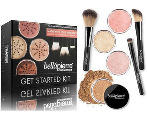 Set machiaj- Bella Pierre Foundation Starter Set (3 nuante)