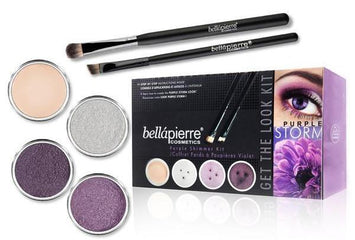 Set machiaj cadou- Bella Pierre Get the Look Kits Purple Storm