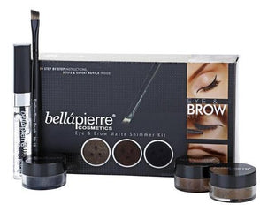 Set pentru ochi si sprancene- Bella Pierre Get the Look Kits Eye and Brow