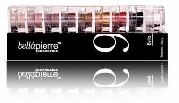 Set 9 Pigmenti de culoare- Bella Pierre 9 Stack Shimmer Powders Bella 15,75 gr