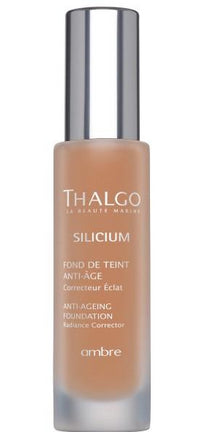 Fond de ten anti-imbatranire nuanta Amber - THALGO Silicium Anti-Ageing Foundation 30 ml