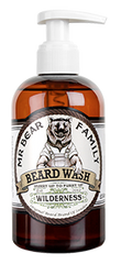 Sampon de barba cu miros de lavanda si lemn - Mr Bear Family Beard Wash Wilderness 250 ml
