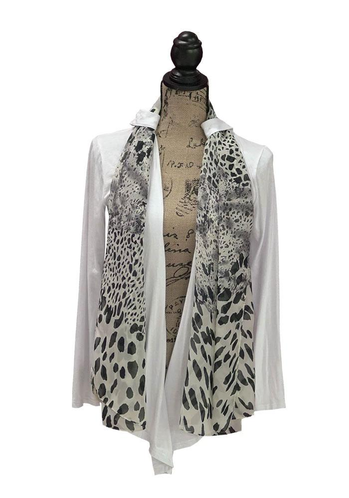 Wrap City Gal Belt Looped Cover Wrap Cardigan, 6 different ways to wear my cardigan (Angelic White)