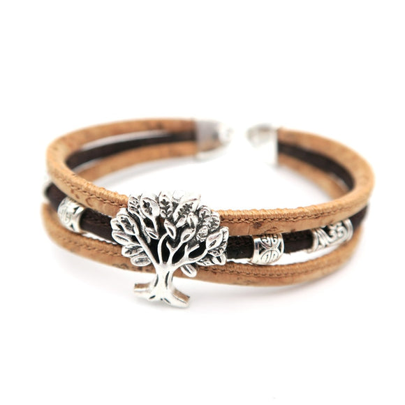Tree of Life Cork Bracelet