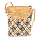 Patterned Crossbody Purse