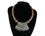 Egyptian Style Large Statement Necklace