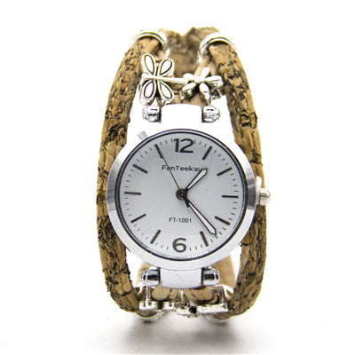 Cork Charm Watch