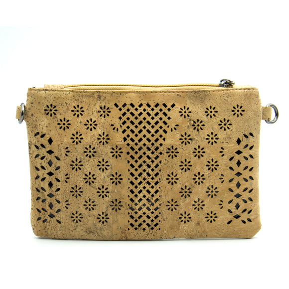 Prado - Floral Patterned Compact Clutch Bag