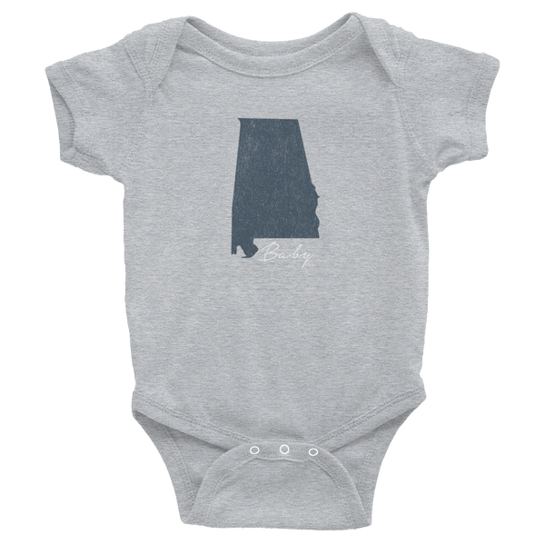Alabama State Baby Onesie, Cute, Super Cute
