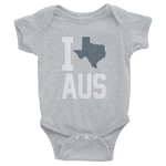 Austin Love Texas Onesie, Child Baby