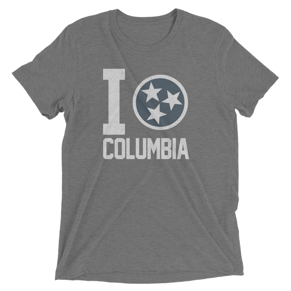 I Tristar, Love, Heart, Columbia Tennessee Tee, Shirt