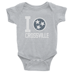 I Tristar, Love, Heart, Crossville Tennessee Onesies