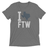I heart texas love fort worth texas heather tee