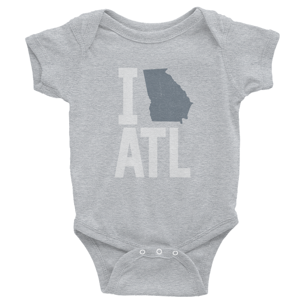 I Love/State Atlanta Georgia Onesie
