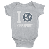 I Tristar, Love, Heart, Kingsport Tennessee Onesies